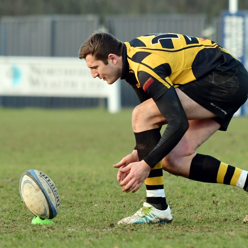 Green Rugby Player: Hinckley Rugby Club