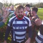 Old Leamingtonians v Banbury Lions players tunnel - Sat 30th Jan '16