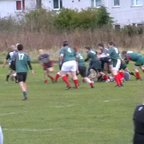 Don Ross try for Clydebank VETs against GHA