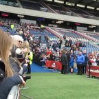 Edinburgh Mascot's, Niamh and Andrew