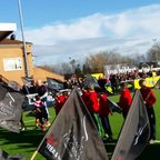 Vale Under U7's, U8's, U9's and U10's providing Guard of Honour at Newcastle Falcons