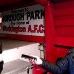 Workington AFC v. Ashton United - Tue 18 Oct 2016