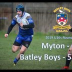 Myton Warriors vs Batley Boys 17/03/2019