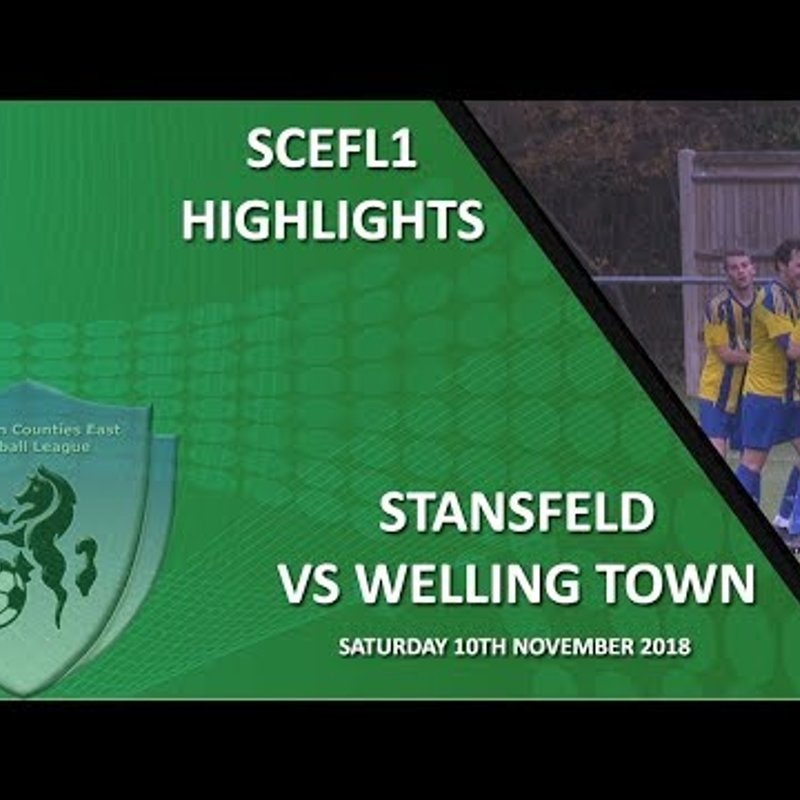 Highlights - Stansfeld 3-2 Welling Town
