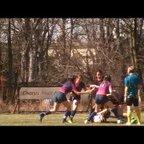 Stade Rugby Power girls in Pragu