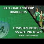 HIGHLIGHTS - Lewisham Borough 1-2 Welling Town