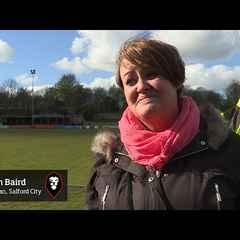 Salford City 3-2 Workington - Karen Baird post match interview