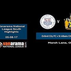 VIDEO   5/8/17 Oxford City 2-3 St Albans City