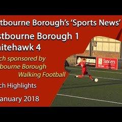 'Sports News': Eastbourne Borough 1 v 4 Whitehawk – Vanarama National League South Highlights