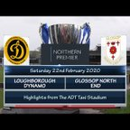 Loughborough Dynamo v Glossop North End 22/02/20
