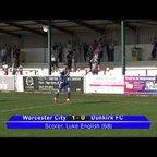 Worcester City 2 Dunkirk 0