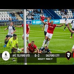 Telford United 0-2 Salford City - National League North 12/08