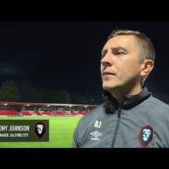 Salford City 2-1 Stockport County - Anthony Johnson post-match interview