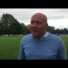 POST MATCH INTERVIEW - Oxford City 4-2 Leiston