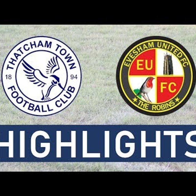 Thatcham Town FC vs Evesham United FC | Highlights