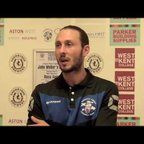 TONBRIDGE ANGELS VS WINGATE AND FINCHLEY - Post match interviews 13/08/2016
