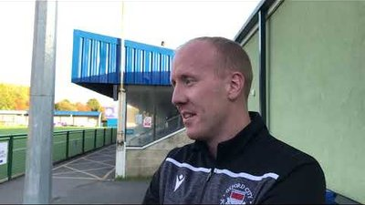 POST MATCH INTERVIEW - Oxford City 2-1 Margate