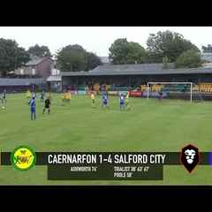 Caernarfon Town 1-4 Salford City - 2016/17 Pre-season match