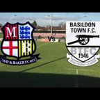 May and Baker FC Vs Basildon Town FC HIGHLIGHTS!!!