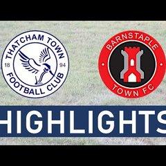 Thatcham Town FC vs Barnstaple Town FC | Highlights