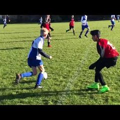Hares Battle Bravely But Late Goal Knocks Them Out Of The Cup