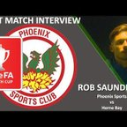 Rob Saunders Phoenix Sports  6 0 Herne Bay FA Youth Cup Prelim 18 19