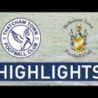 Thatcham Town FC vs Melksham Town FC | Highlights
