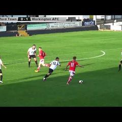 Hednesford Town v Workington AFC   Evo-Stik Premier Division