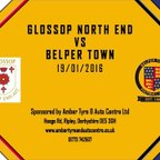 Glossop North End 1 - 2 Belper Town 19th January 2016 Highlights