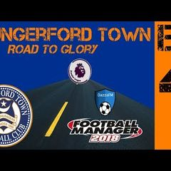FM18 - Hungerford Road To Glory - FA Cup Day - Ep4 - Football Manager 2018
