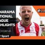 Vanarama National League Highlights Show   Matchday 45