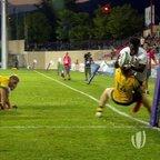 Gabriel Ibitoye's superhuman finish