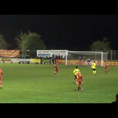Banbury United 1 Chesham United 0 - 14th March 2017 - Match Highlights