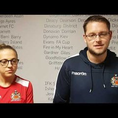 FAW CUP POST MATCH INTERVIEW: BARRY TOWN UTD 2-0 PENYBONT FC