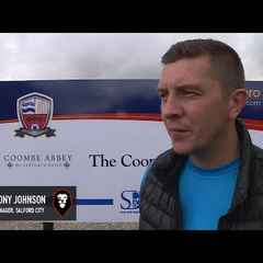 Nuneaton Town 0-1 Salford City - Anthony Johnson post match interview