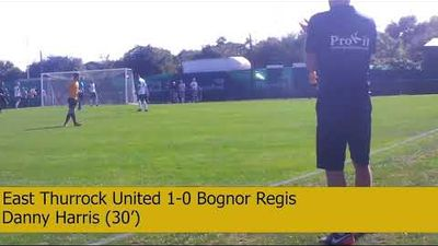 East Thurrock United vs Bognor Regis - Highlights