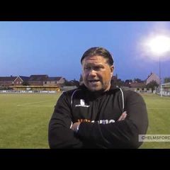 Dagenham & Redbridge (H) Reaction: Rod Stringer