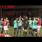 WORKINGTON REDS VS WESTON SUPER MARE FA TROPHY REPLAY MATCHDAY HIGHLIGHTS!!!