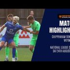 HIGHLIGHTS: Chippenham Town 1-0 Weymouth | 2019/20 National League South
