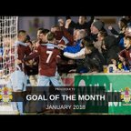 Goal Of The Month | January 2018
