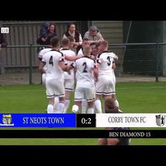 CTTV Highlights: ST NEOTS TOWN 3-2 CORBY TOWN: