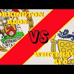 WORKINGTON REDS VS WHITEHAVEN VLOG!!!