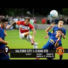Salford City 1-5 Manchester United Reserves - 16/17 Pre-season match