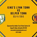 King's Lynn Town FC 5 - 1 Belper Town 3rd November 2015 Highlights