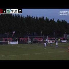 MATCH HIGHLIGHTS: Greenwich Borough vs Corinthian Casuals - Ryman South Playoff Semi-Final 2016/17