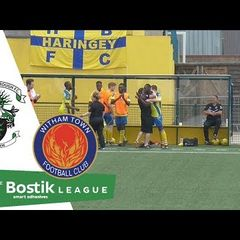 Haringey Borough F.C 1 - 0 Witham Town F.C [Full Highlights]