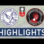 FA Trophy | Thatcham Town FC vs Cirencester Town FC | Highlights
