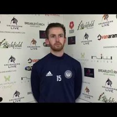 Tom Meechan Interview | Hungerford Town | Crusaders Live