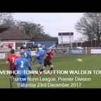 Wivenhoe Town v Saffron Walden Town. Season 2017-18