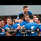 Brackley Town 0-1 Salford City - National League North 11/03